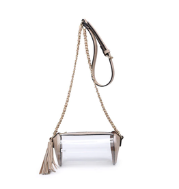 Buford Wholesale Clear Cylinder Crossbody