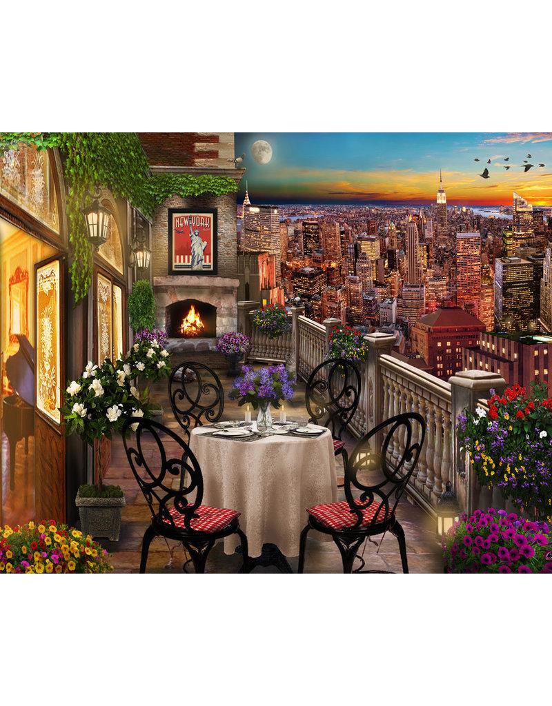 Vermont Christmas Company New York Evening Jigsaw Puzzle 1000 piece