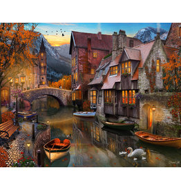Vermont Christmas Company Autumn Canal Jigsaw Puzzle 1000 piece