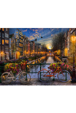 Vermont Christmas Company Amsterdam Aglow Jigsaw Puzzle 550 Piece