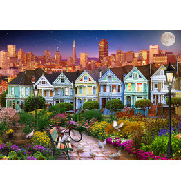 Vermont Christmas Company Painted Ladies of San Francisco Jigsaw Puzzle 1000 Piece