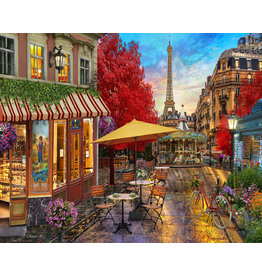 Vermont Christmas Company Evening in Paris Jigsaw Puzzle 1000 Piece
