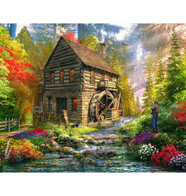 Vermont Christmas Company Mill Cottage Jigsaw Puzzle 1000 Piece