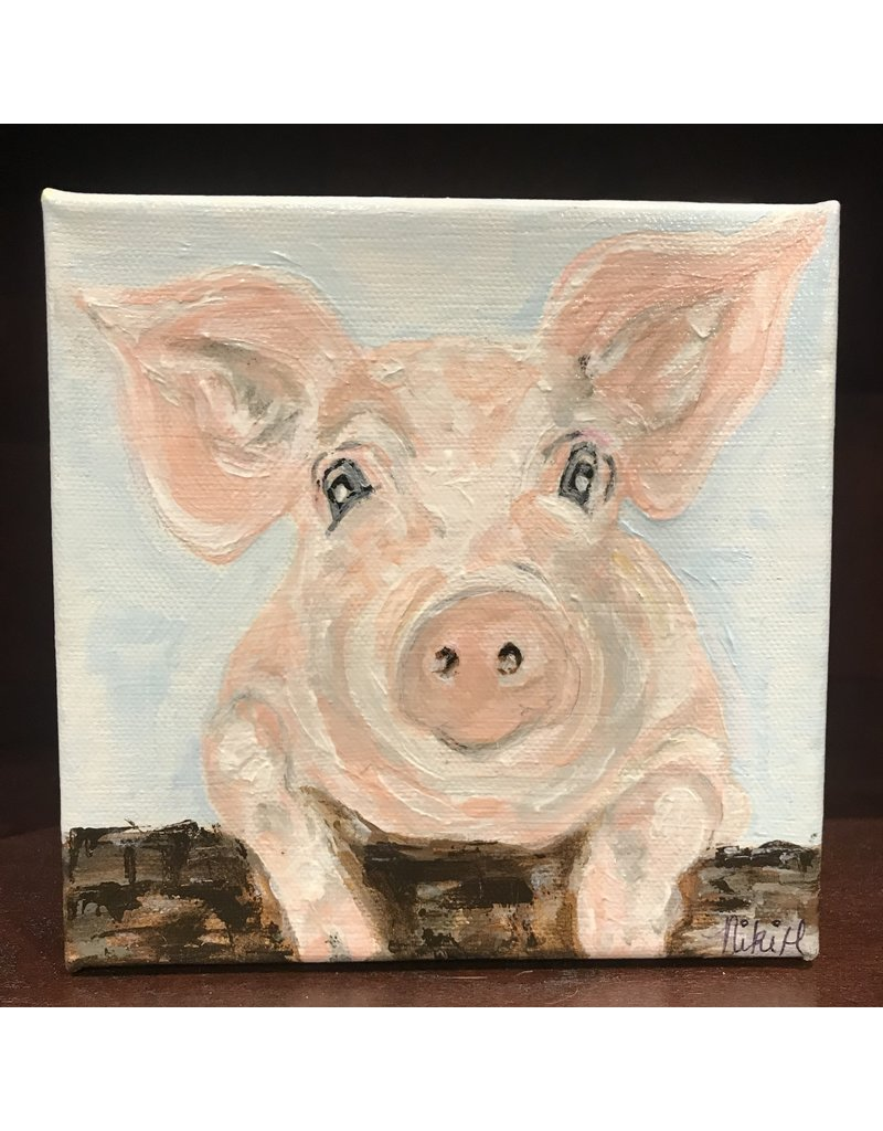 Studio 1905 Art Charlotte Pig 6x6