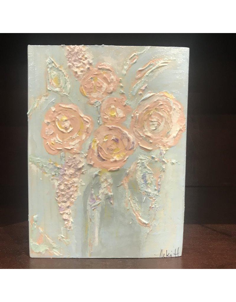Studio 1905 Art Renewal (Pink flower) 5x7
