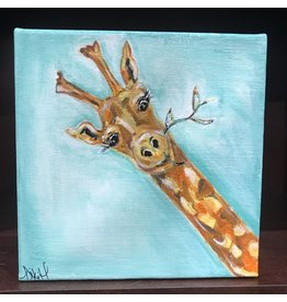Studio 1905 Art Geraldine (giraffe) 6x6