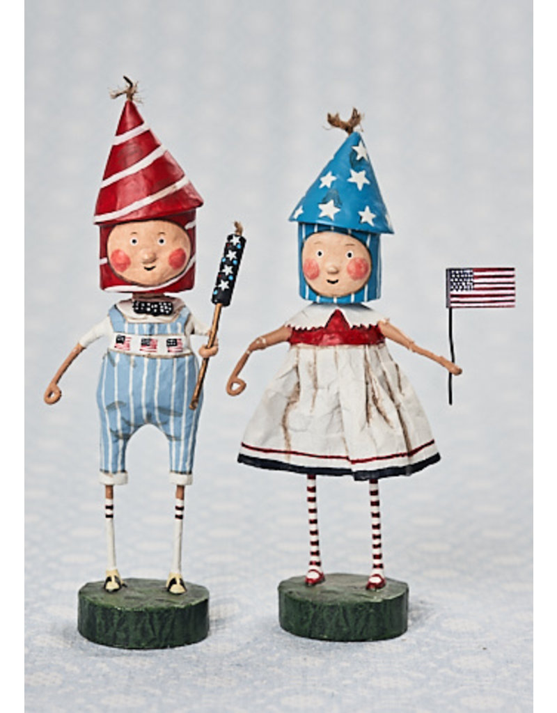 "ESC & Company ""Lil' Firecracker"" Boy Figurine"