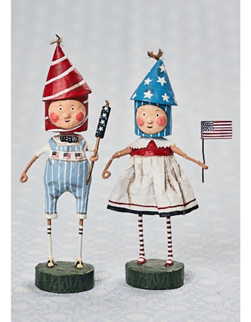 "ESC & Company ""Lil' Firecracker"" Girl Figurine"