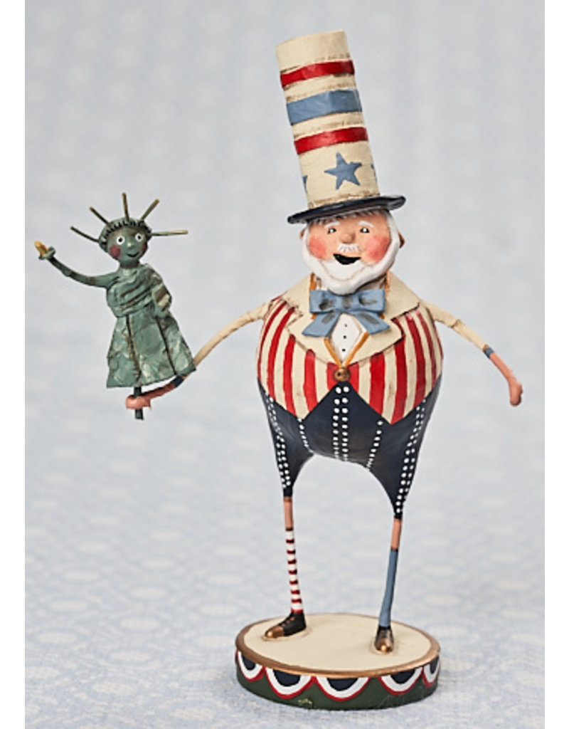 "ESC & Company ""Patriotic Pete"" Figurine"