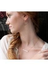 Freshie & Zero GF Stem (straight bar) Necklace
