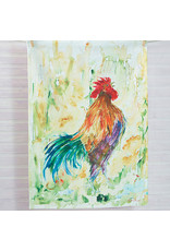 April Cornell Rooster Watercolor Tea Towel Set/3