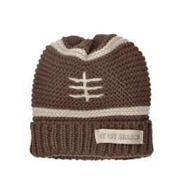 Mud Pie My 1st Football Season Knit Hat