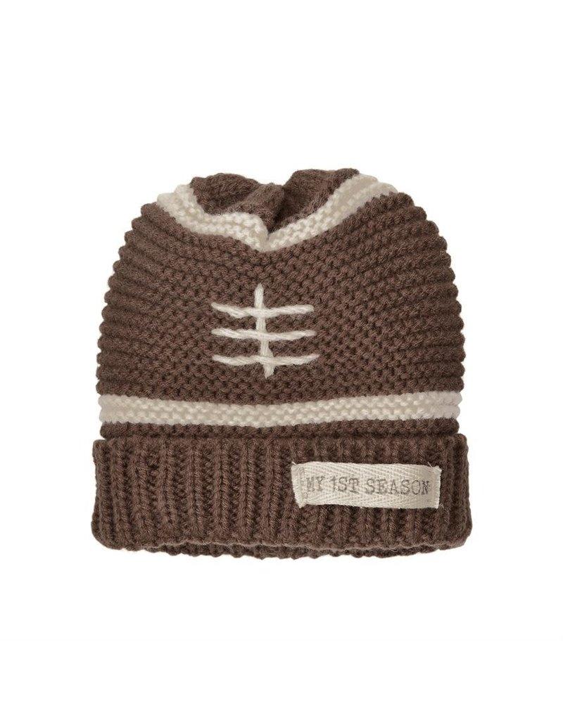 Mud Pie My 1st Football Season Knit Hat