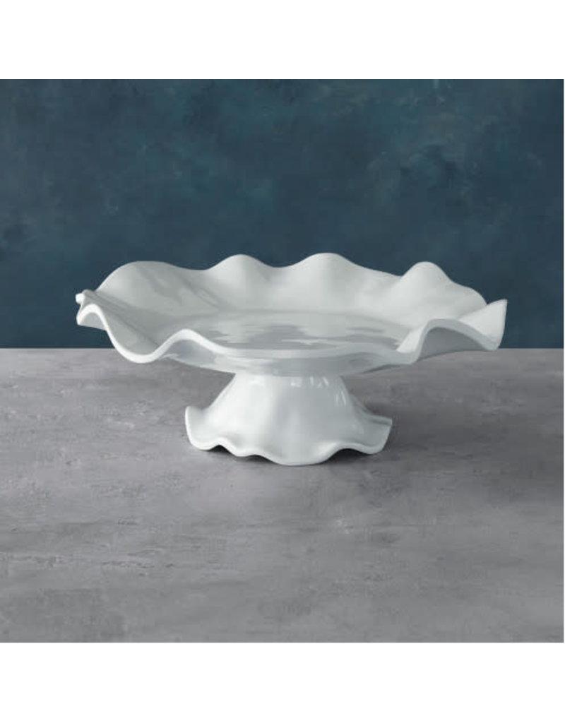 Beatriz Ball Vida Havana Pedestal Cake Plate-white