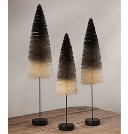Bethany Lowe Designs Black & White Ombre Trees set/3