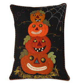 Bethany Lowe Designs Pumpkin Topiary Pillow