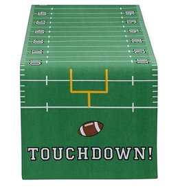 Design Imports Touchdown Printed Table Runner