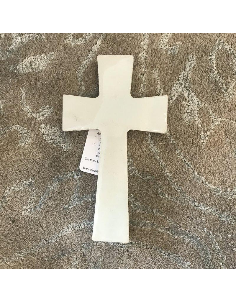 Light Jordon Light Jordon Concrete Cross Ivory