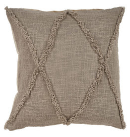 Ox Bay Trading 20 x 20 Pillow Taupe