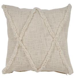 Ox Bay Trading 20 x 20 Pillow Natural
