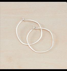 Freshie & Zero SS Minimal Hoop - Small Organic Circle