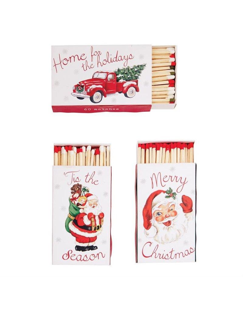 Mud Pie Christmas Phrase Match Box