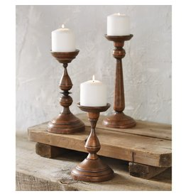 Mud Pie Large Copper Candlestick