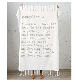 Mud Pie Campfire Definition Throw