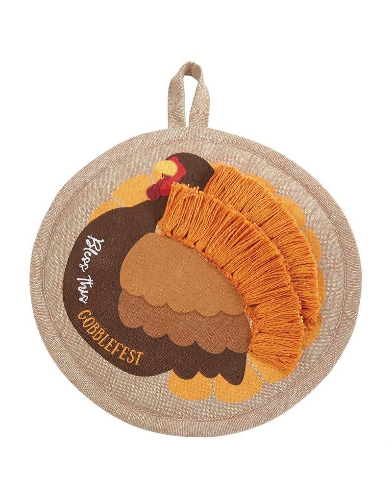 Mud Pie Turkey Pot Holder