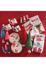 Mud Pie Santa Whimsical Hand Towel