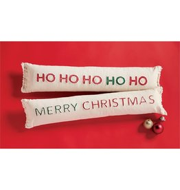 Mud Pie Ho Ho Ho Skinny Long Pillow