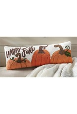 Mud Pie Happy Fall Hooked Wool PIllow
