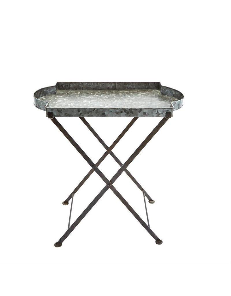 Mud Pie Tin Tray Table