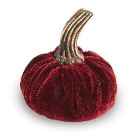Mud Pie Purple Placecard Pumpkin