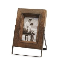 Mud Pie 4x6 Wood Frame on Stand