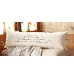 Mud Pie Definition Thankful Pillow