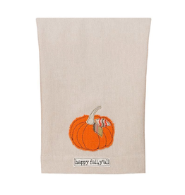 Glory Haus Happy Fall Y'all Tea Towel