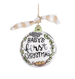 Glory Haus Baby's First Christmas Neutral Ornament