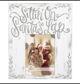 Glory Haus Sittin' on Santa's Lap Frame
