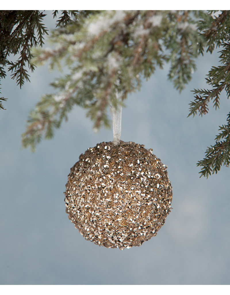 Bethany Lowe Designs Peaceful Sequin Ornament Small