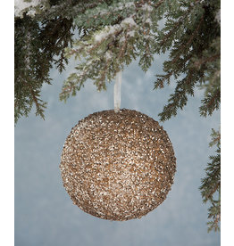 Bethany Lowe Designs Peaceful Sequin Ornament, Large