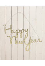 Bethany Lowe Designs Happy New Years Tin Sign