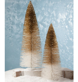 Bethany Lowe Designs Peaceful Glitter Trees XL S/2