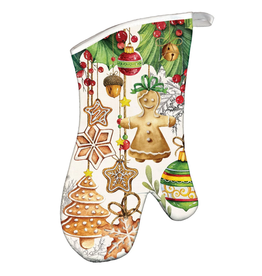 Michel Design Works Holiday Treats Oven Mitt