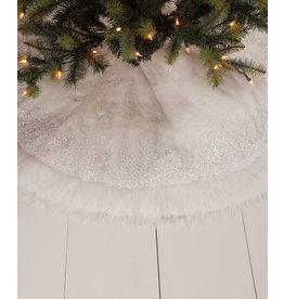 Bethany Lowe Designs Winter Snowflake Tree Skirt