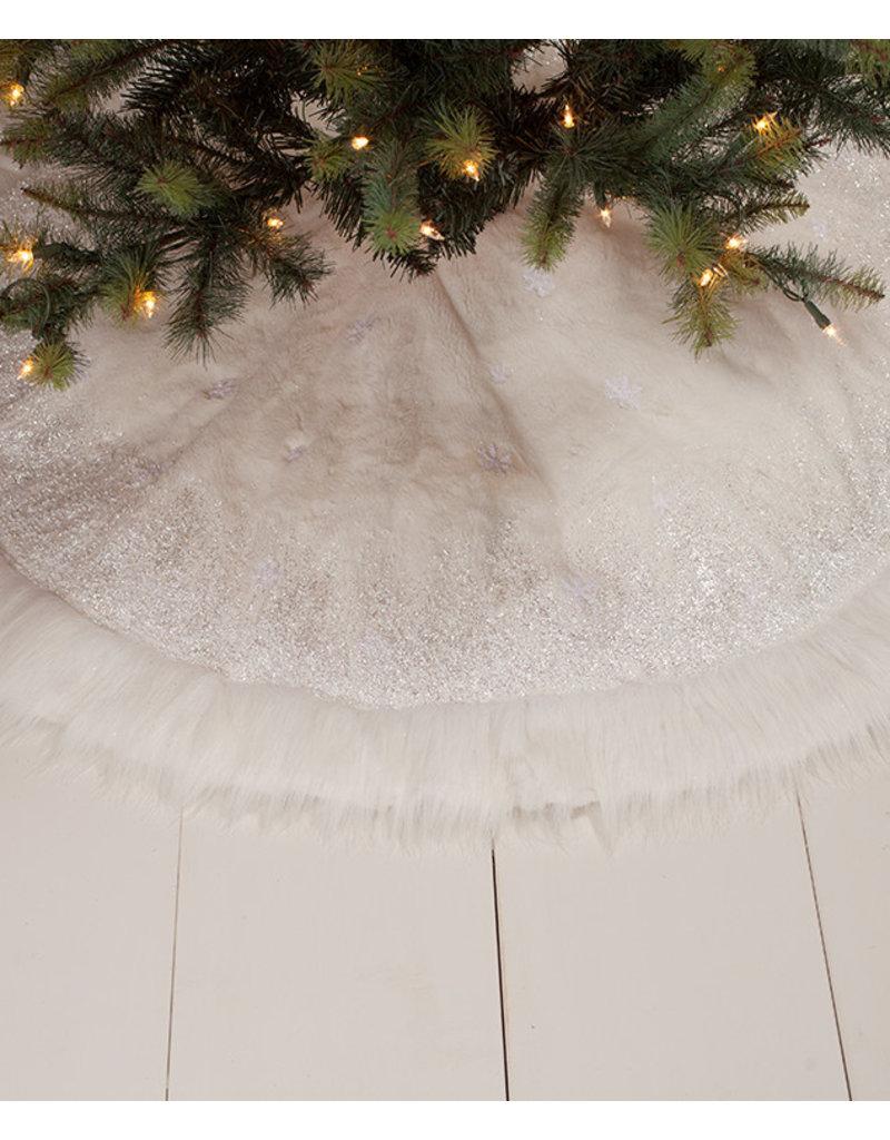Bethany Lowe Designs Winter Snowflake Tree Skirt