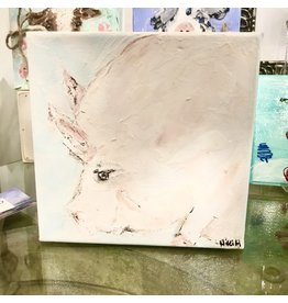 Studio 1905 Art 6 x 6 Pig Painting