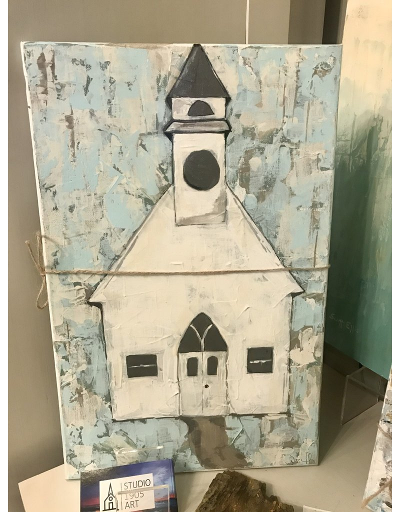 Studio 1905 Art Glory Church 11x17
