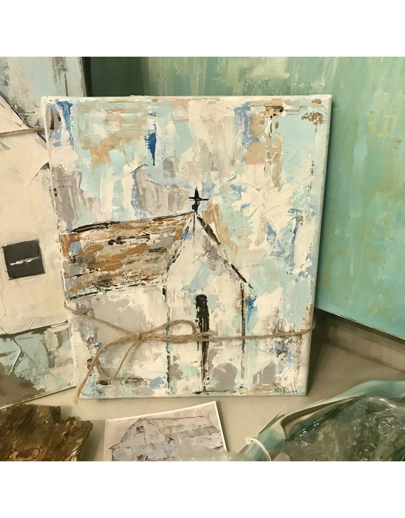 Studio 1905 Art Be Still II Church 8x10