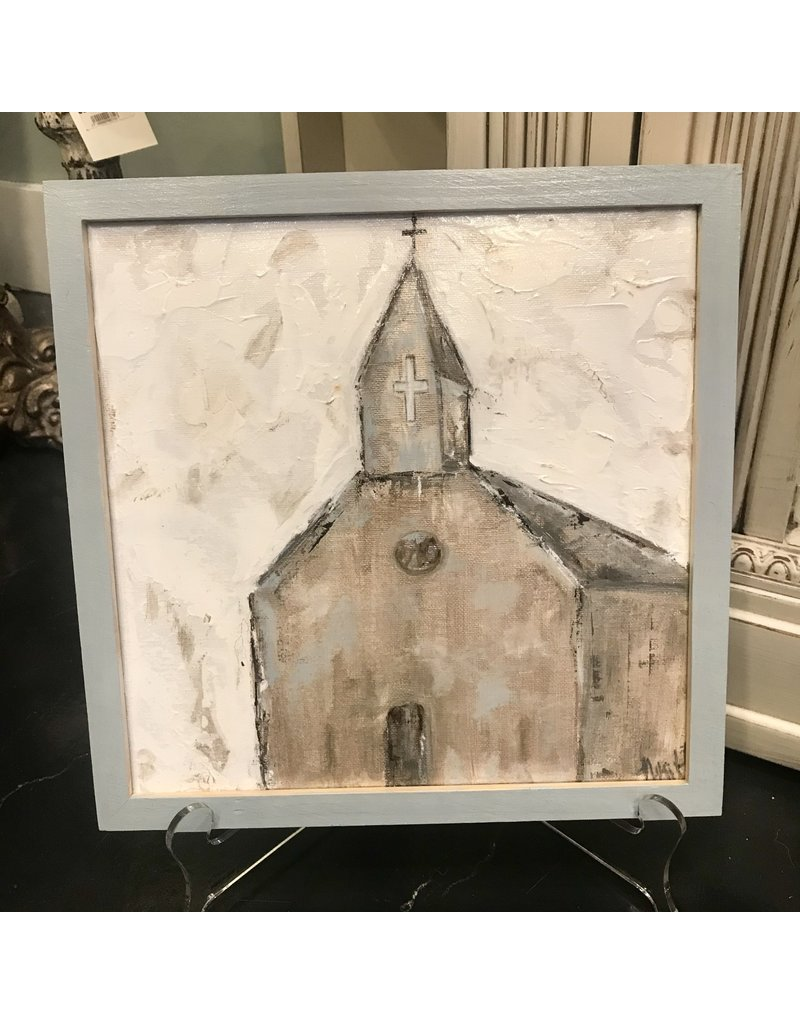 Studio 1905 Art Blessed Gold Church 10x10